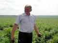 Фермер Колыхалкин занимается выращиванием картофеля. Ему интересно, какие виды на урожай у соседей.