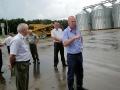 Производственное совещание было продолжено на зернокомплексе ООО Дубовицкого