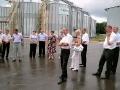 Производственно совещание было продолжено на зернокомплексе ООО Дубовицкого.