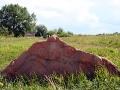 Камни появились здесь недавно: их выпиливали и перевозили из места неподалёку от колодца.