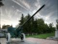 Орудие в парке города Малоархангельска