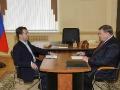 С губернатором Орловской области Александром Козловым