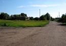 Центральная улица села Луковец