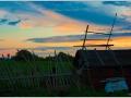 Закат над Каменкой.