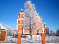 Малоархангельский храм красив в любое время года