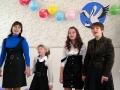 Учителя и учащиеся Протасовской основной школы на самопрезентации Н. Н. Быковой.