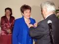 Н. Н. Жиляева была награждена медалью за военно-патриотическое воспитание подрастающего поколения.