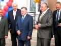 В церемонии открытия после капитального ремонта здания второй городской школы принял участие губернатор области А. П. Козлов.