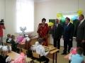 Экскурсия по школе началась с посещения первоклассников, их в 2011г. - 26.