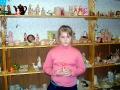 Вдовина Алеся уже не первый год занимается в студии Керамика.