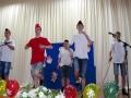 Реальных пацанов из Совхозской средней школы зрители встретили бурными аплодисментами.