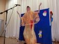 Танец восточной красавицы покорил публику.