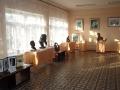 Выставочный зал художественной школы.
