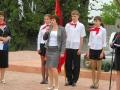 Поздравила пионеров и М. А. Беженова