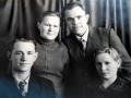 Виктор Внуков с супругой Лидией, Анатолий Внуков,1959 год.