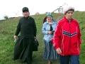 Спешит к нему на службу и настоятель Свято-Архаровского храма отец Ефрем.