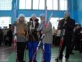 Команда РОНО перед лыжной эстафетой