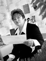 Художественный руководитель Протасовского СДК Светлана Николаевна Борзёнкова. 2005 год.