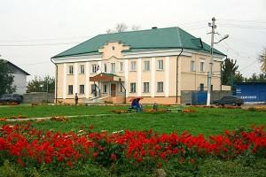 Центральная площадь города Малоархангельска