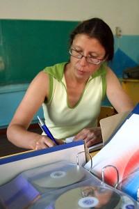 Учитель Ивановской средней школы Белевцева Ольга Валерьевна