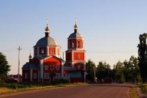 Малоархангельская церковь Михаила Архангела, июнь 2009 года