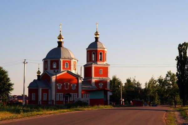 Малоархангельская церковь Михаила Архангела, июнь 2009 года.
