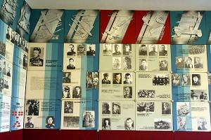 Внутренний вид музея Боевой и трудовой славы