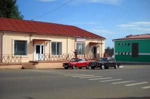 Центр Малоархангельска. Осень 2009 года