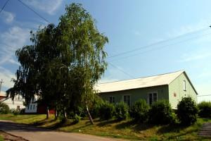 Здание массовой библиотеки г. Малоархангельска