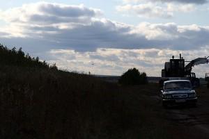 Возвращение вертолётов Президента в Курск