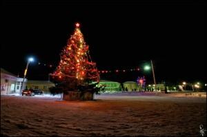 Новогодняя ёлка в Малоархангельске