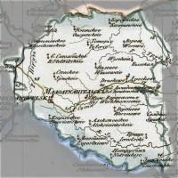 Генеральная карта Орловской Губернии — 1822 год