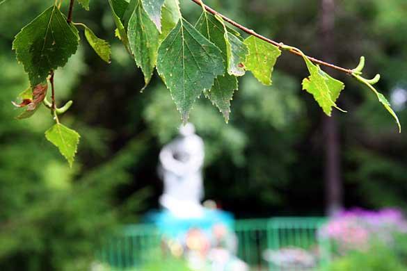 Память. Братская могила в Каменке Малоархангельского района Орловской области.
