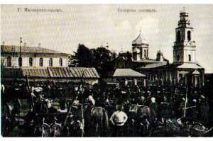 Базарная площадь Малоархангельска.