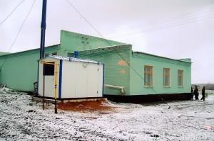 Первомайская сельская библиотека, на фото зима 2007 года