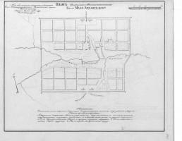 План Малоархангельска, 1780 год