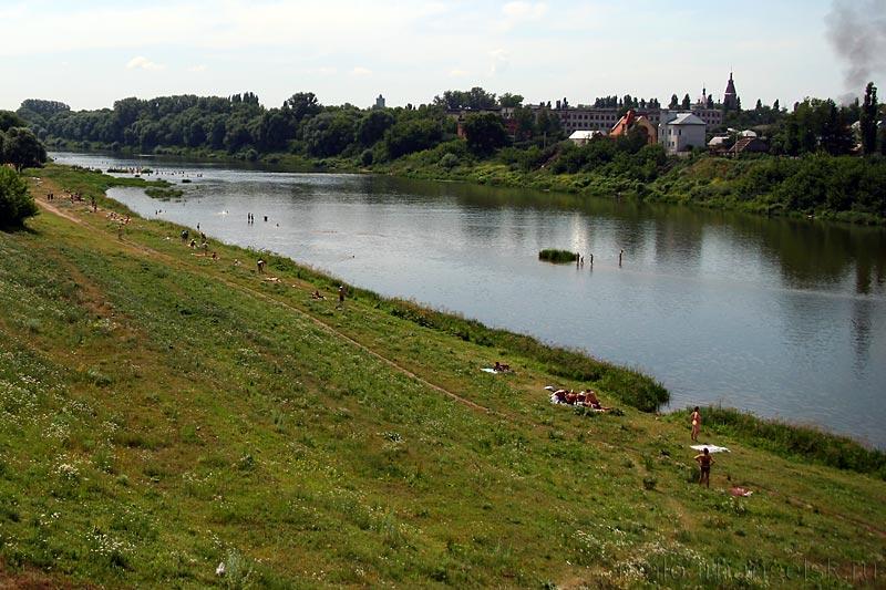 Куда течет река сосна схема фото 184