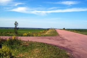 Дорога на Кубань. Ээто место названо Мейером Часовенкой.