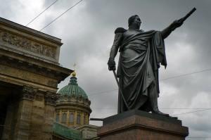 Памятник М. И. Кутузову, скульптор Б. Орловский, 1837 год