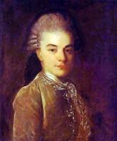 Портрет А.М. Римского-Корсакова в юности. Конец 1760-х годов. Автор Ф. С. Рокотов.