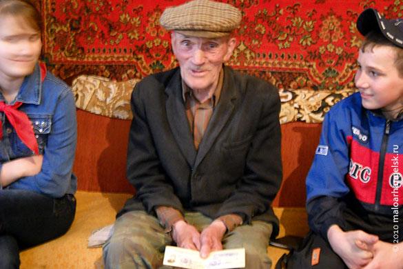 Рассказ ветерана об его участии в Великой Отечественной войне