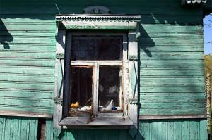 Окошки дома.