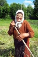 Одна из последних жительниц села Мухортово — Мария Павловна Кашинская