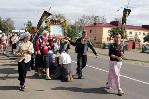 22 августа 2010 года. Крестный ход в Малоархангельске.