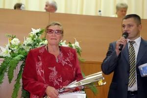 Слова благодарности А. А. Белевцевой, директору Ивановской средней школы