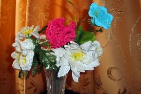 Кружевные цветы