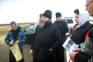 Настоятель Курской Коренной пустыни игумен Вениамин посещает родные места