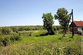 Окраина деревни Тагино, 2010 год
