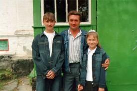 Чернов Сергей Васильевич с детьми