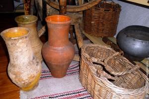 Глиняные горшки, деревня Верхняя Гнилуша Малоархангельского уезда